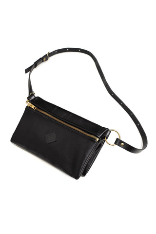 KIM PURSE [Black-Brass]