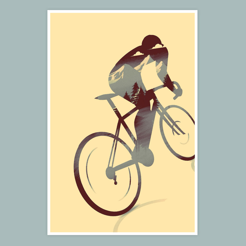 Another Cycling Print Concept