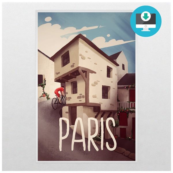 'Paris' - Digital Download - Super Chez Bro