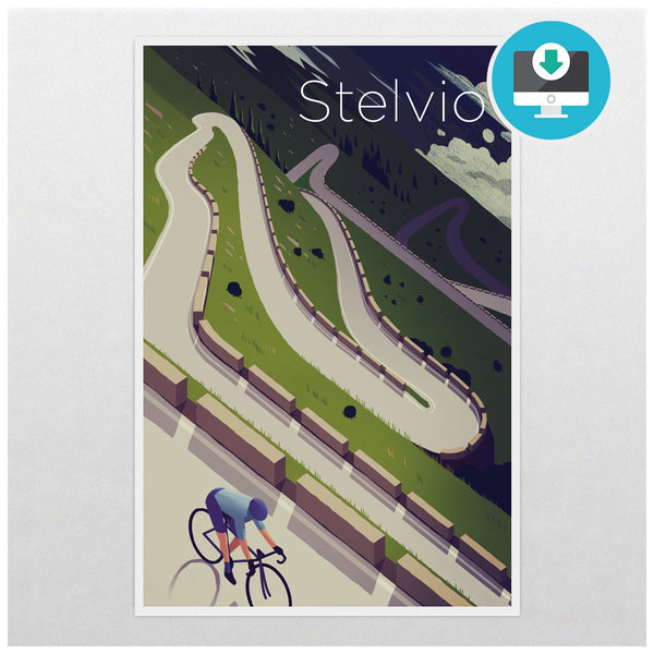 'Stelvio' - Digital Download - Super Chez Bro