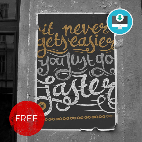 FREE 'You Just Go Faster' - Digital Download