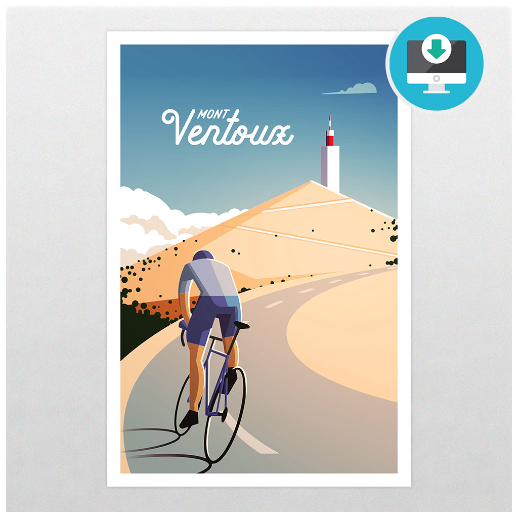'Mt Ventoux' - Digital Download - Super Chez Bro