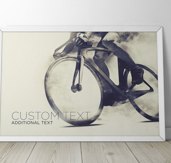 Custom Cycling Print - Super Chez Bro