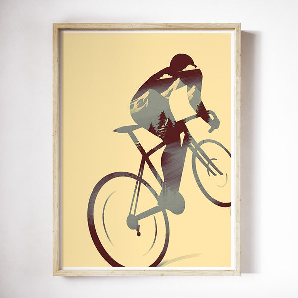 'Inside the Climb' Print - Super Chez Bro