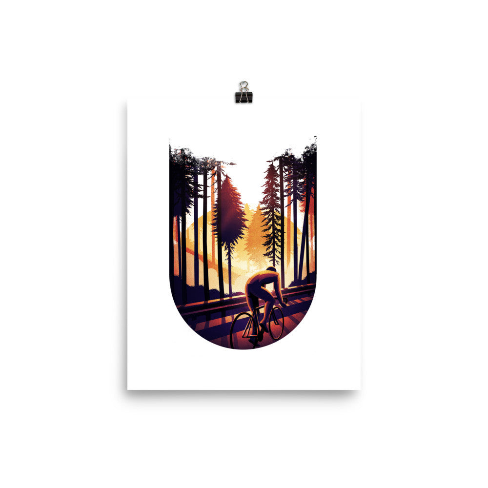 'Sunrise' Double Exposure Print