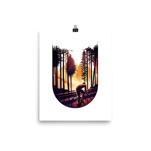 'Sunrise' Double Exposure Print - Super Chez Bro