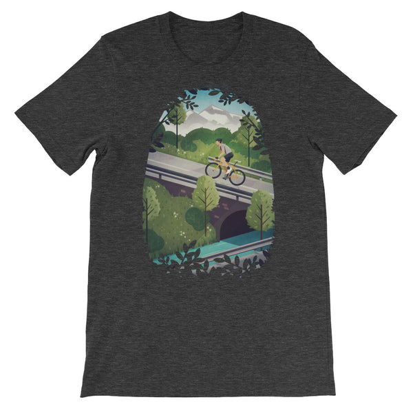 'Into the Hills' Unisex short sleeve t-shirt