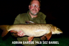 Another Huge Barbel for Adrian