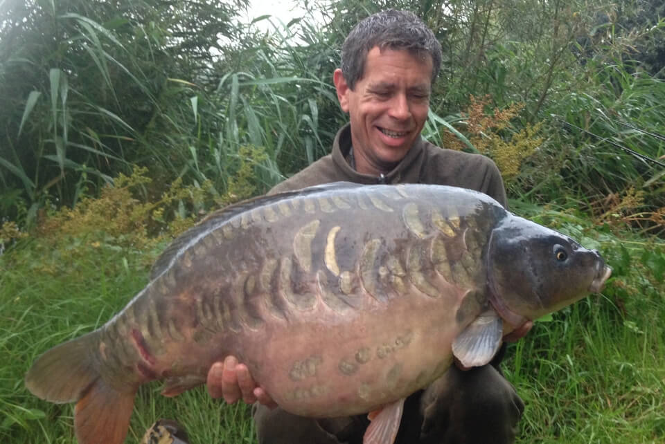Andy with a Carp