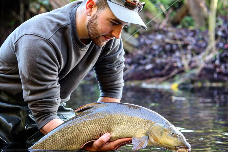 Ashley with a Barbel