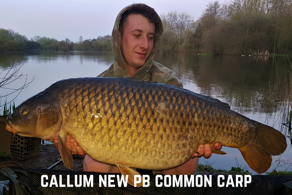 New PB for Callum