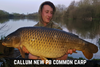 Callum New PB Common Carp