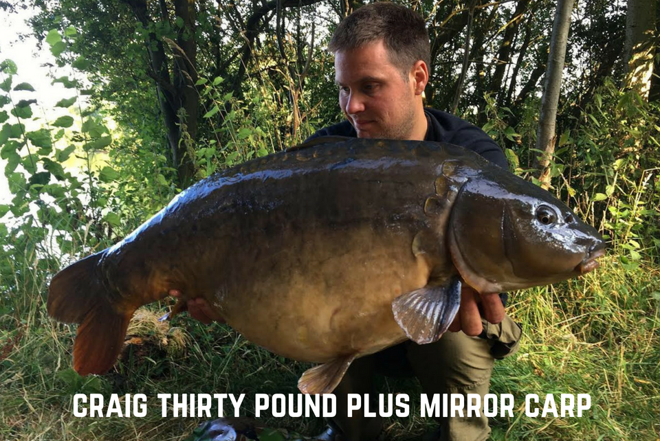 Craig Thirty Pound Carp