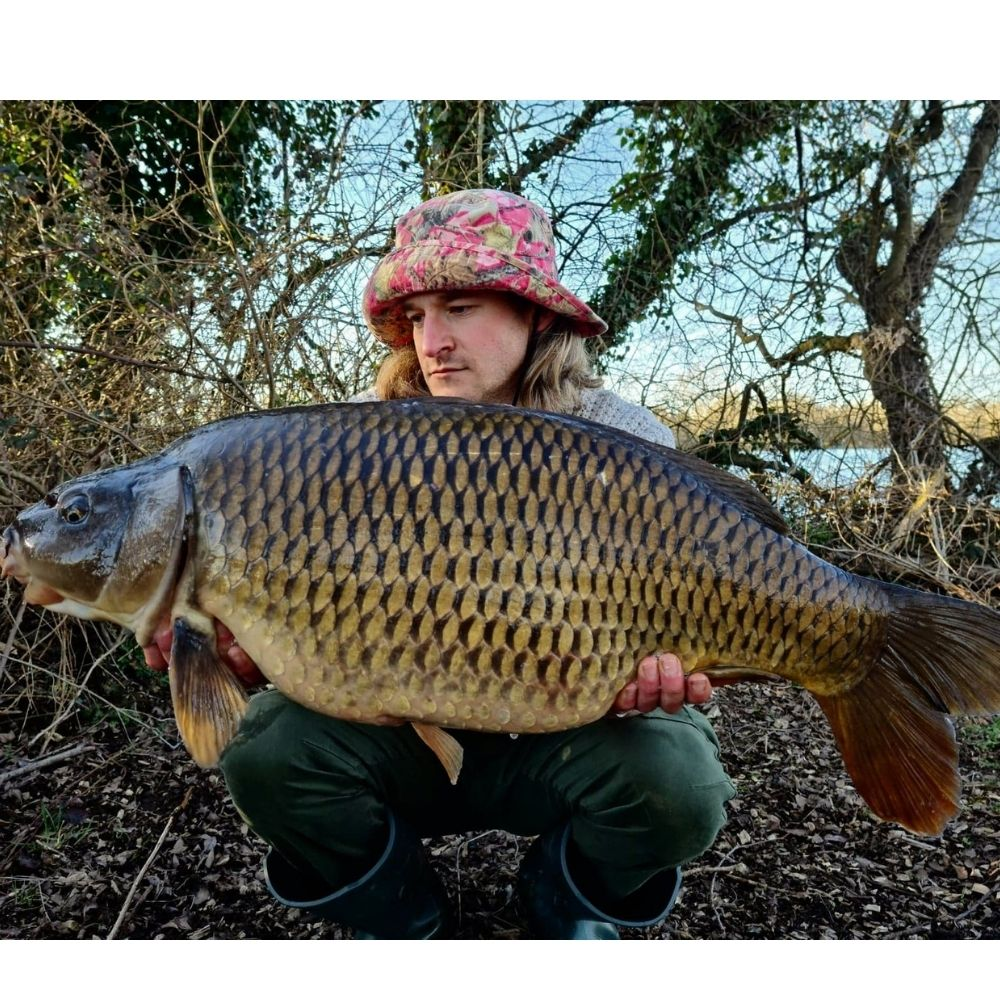 Dion with a Common Carp