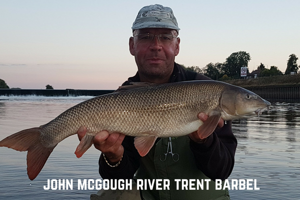 River Trent Barbel Fishing - John McGough
