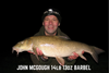 John McGough 14lb 13oz Barbel