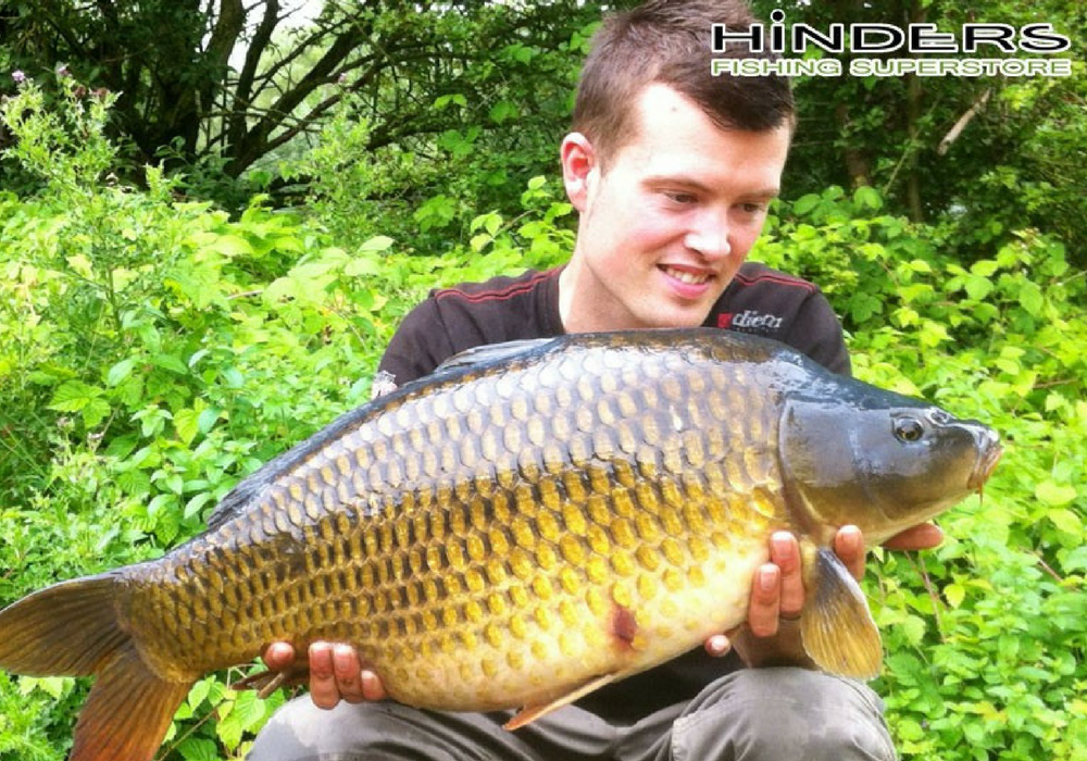 Josh with a Syndicate Common Carp