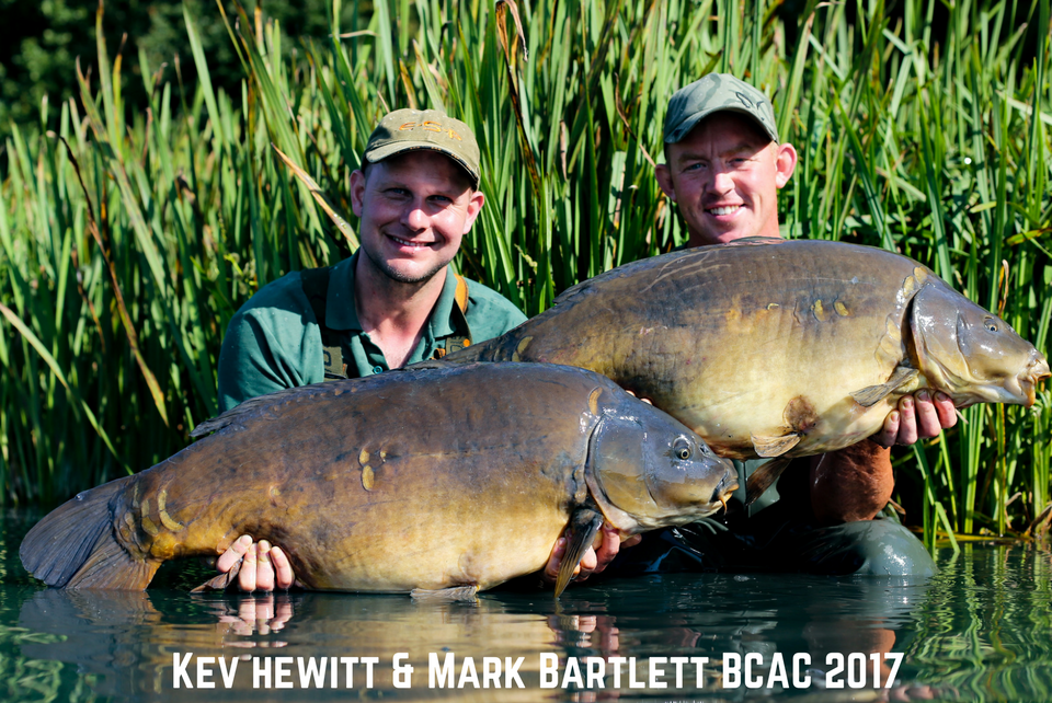 Kev Hewitt and Mark Bartlett Carp