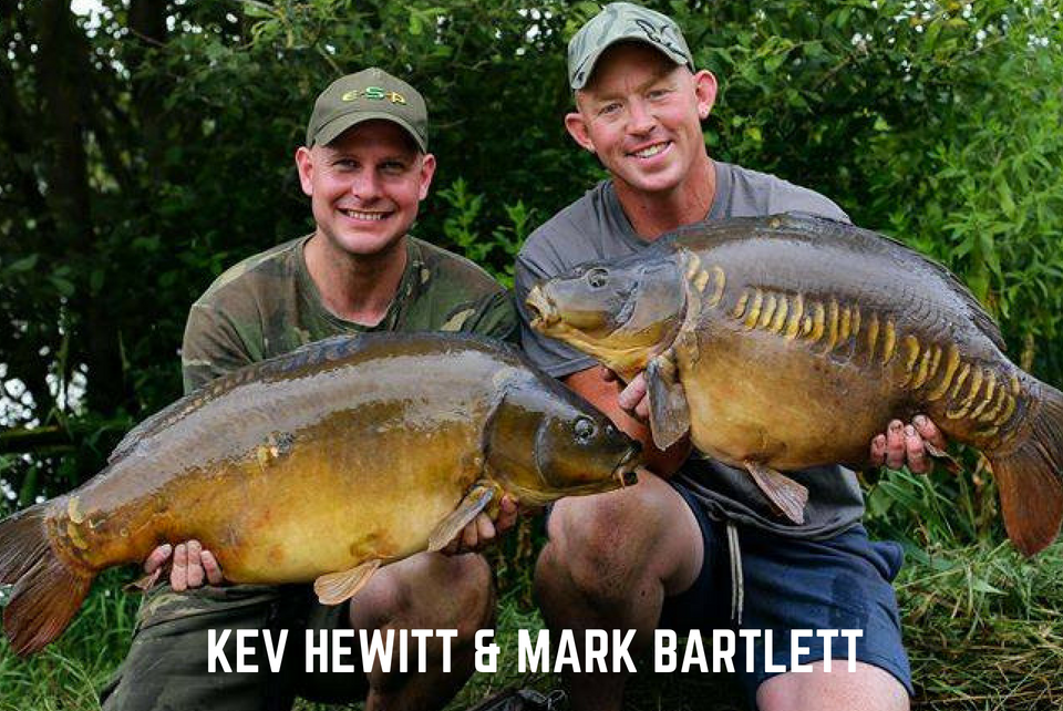 Kev Hewitt and Mark Bartlett BCAC Semi Final