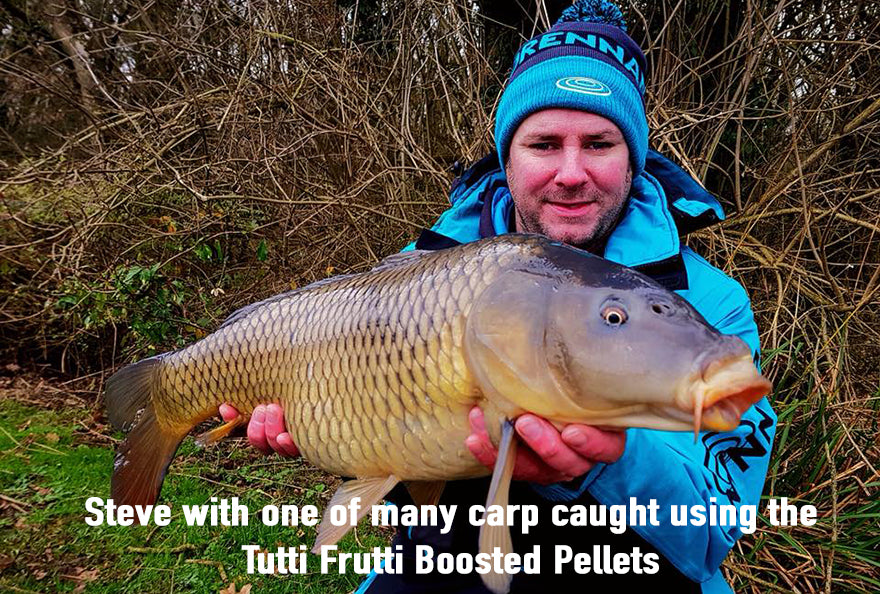 Tutti Frutti Boosted Pellets Now Available