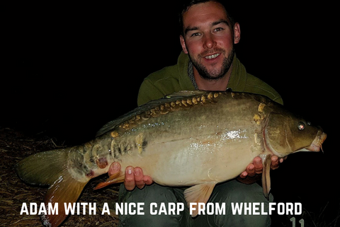 Adam with a Whelford Carp