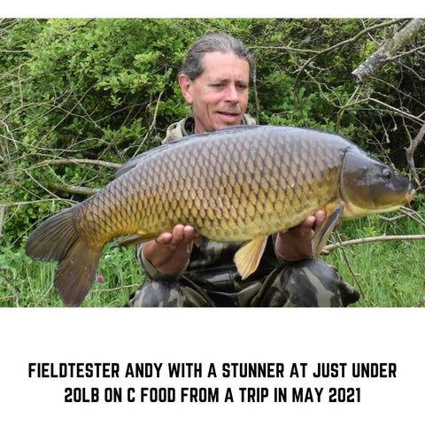 A stunning carp on C Food for Andy