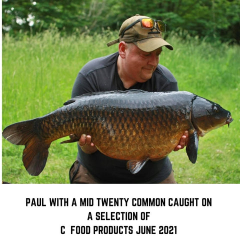 Paul with a Mid Twenty Common caught on C Food