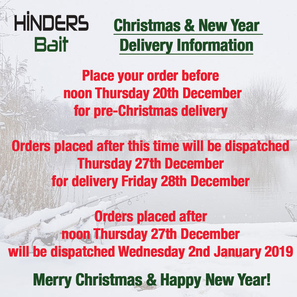 Christmas Delivery Information