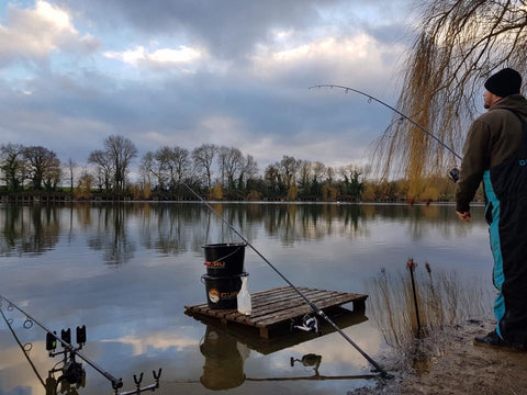 Zig Rig Fishing at Clattercote