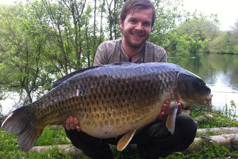 Dan with a Common Carp