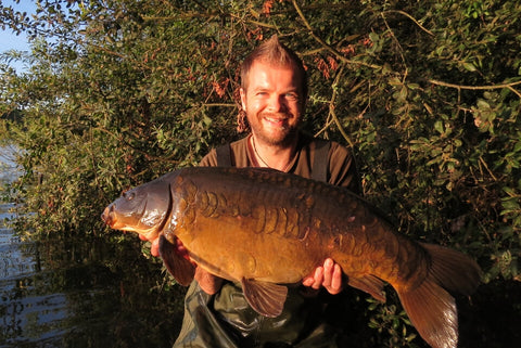 Dan with a Dinton Mirror
