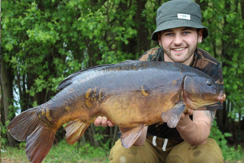Ashley with a Carp