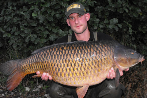 Dean with a Common Carp