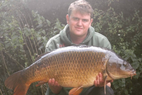 David with a Common Carp