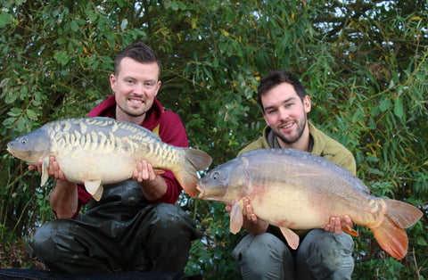 Linear Fishery Carp for Josh and Friend