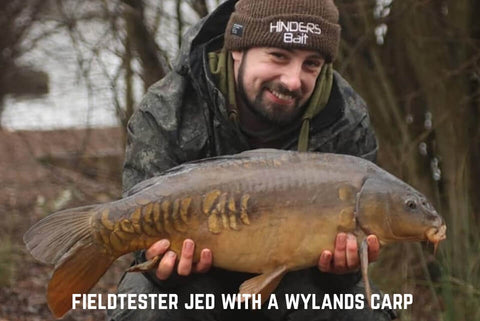 Jed with a Wylands Carp