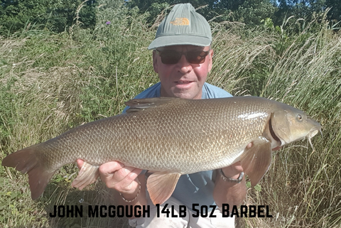 John McGough 14lb 5oz Barbel