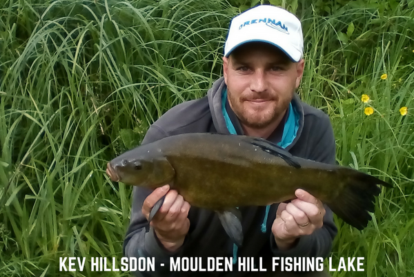 Kev with a lovely Moulden Hill Fish