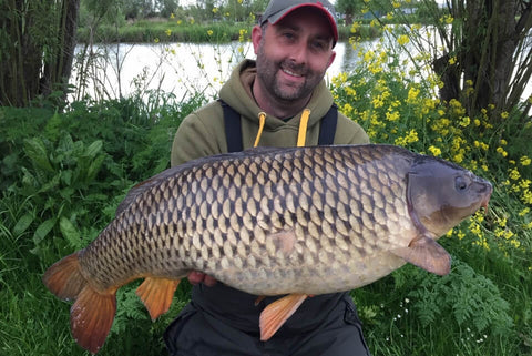 Mark with a Common Carp