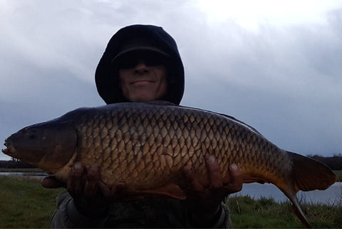 Paul with a Hants Avon Common Carp