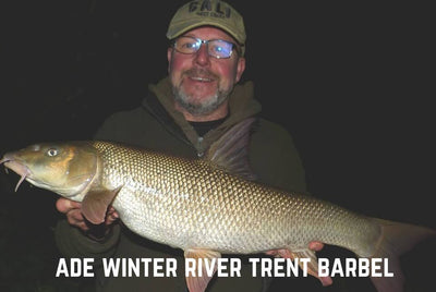 Ade River Trent Barbel caught on Barbel Bomb