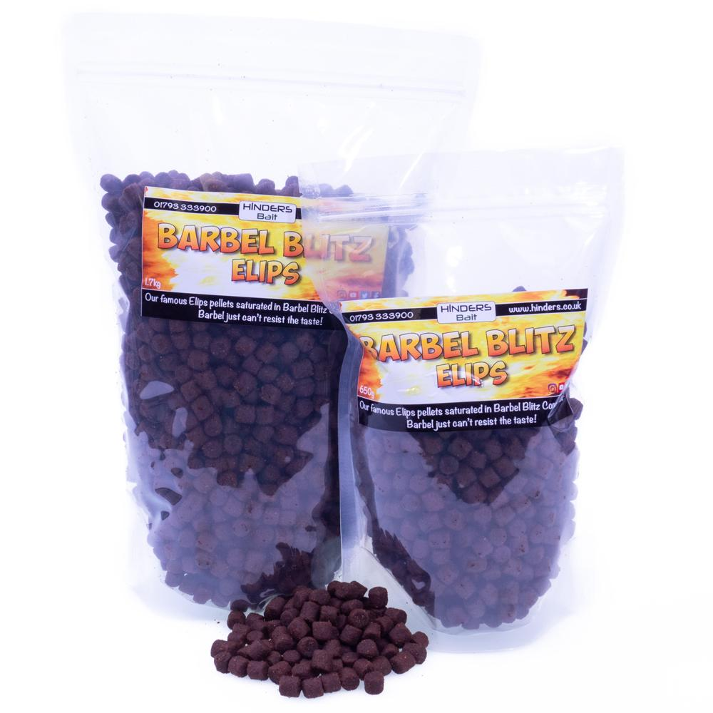 Barbel Blitz Elips Pellets best barbel bait