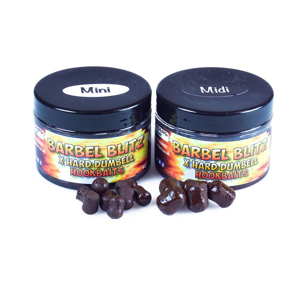 Hinders Barbel Blitz Extra Hard Boosted Dumbell Hookbaits