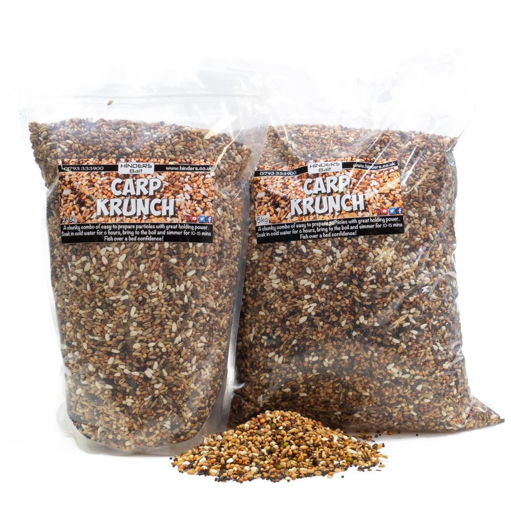 Carp Krunch Particle Fishing Bait