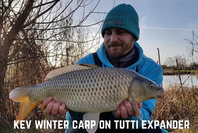 Kev Winter Carp Fishing on Tutti Expander Mix