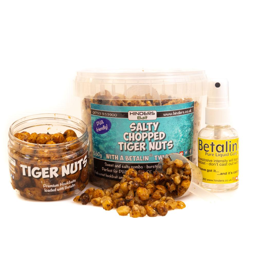 Hinders PVA Friendly Betalin Tiger Nut Bait Bundle - Free Delivery