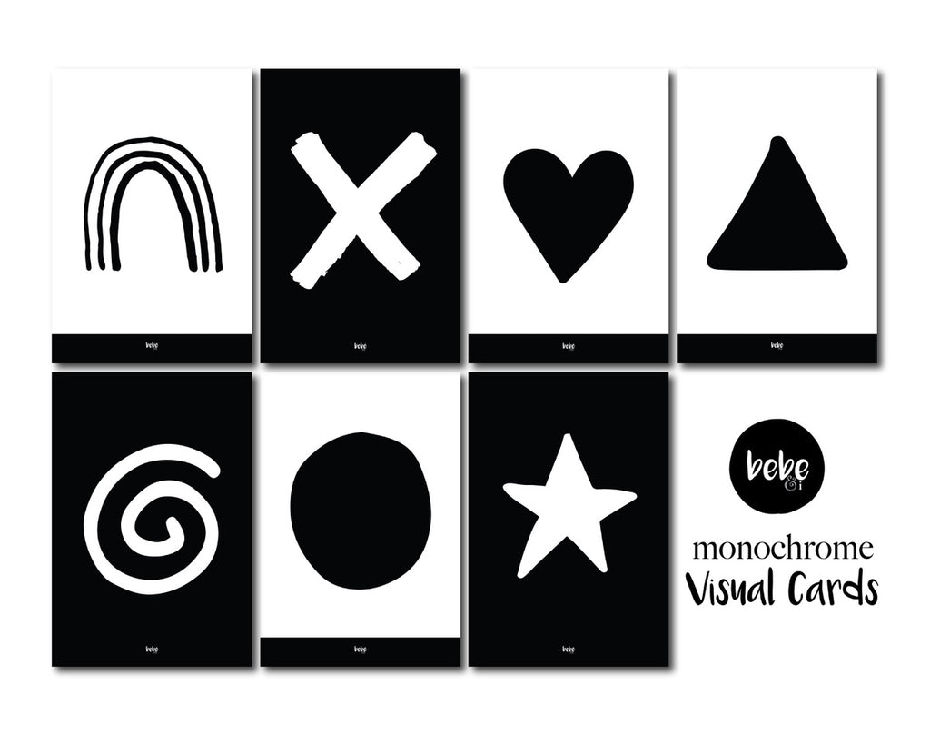 Monochrome Visual Cards