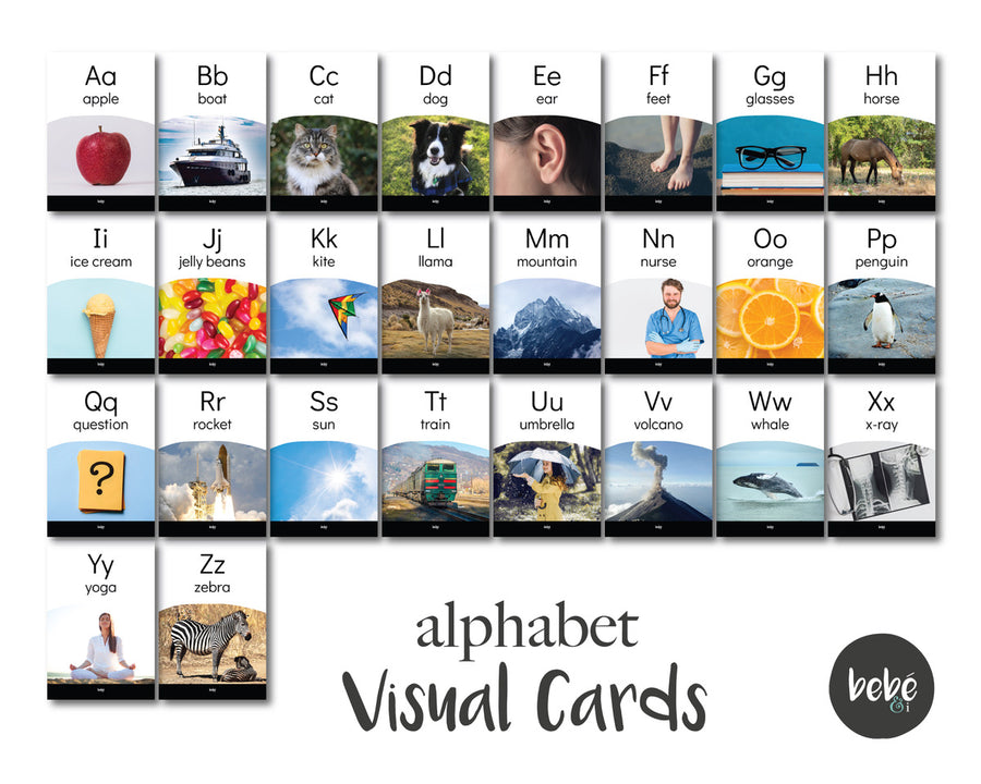 Alphabet Visual Cards
