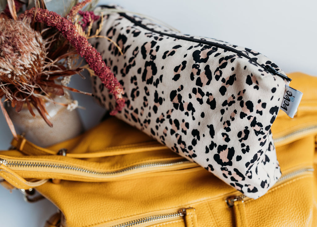 Carry All Purse - Blush Leopard