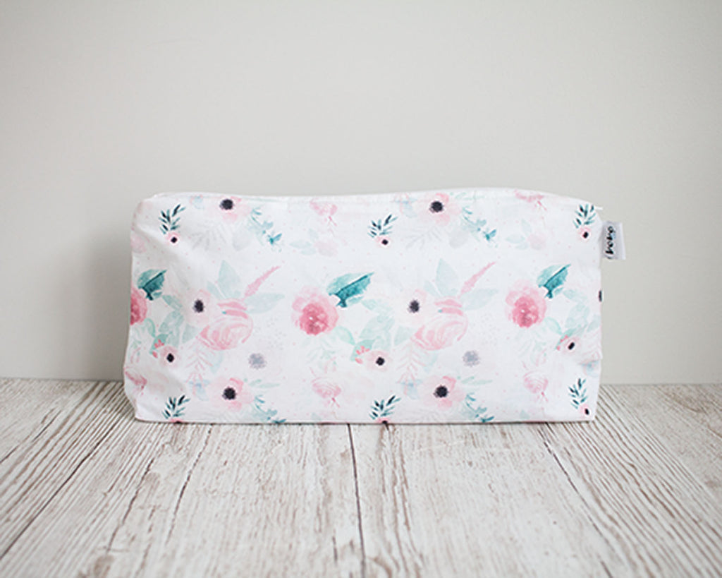 Carry All Purse - Peonies